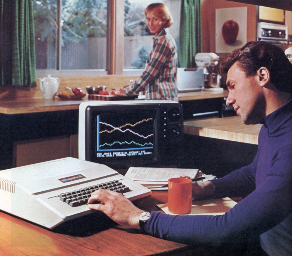 Apple II Workspace Print Ad