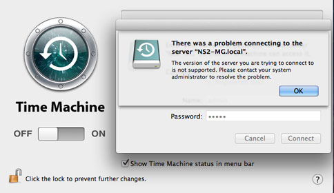 LaCie NAS Problem Problem Connecting Mac OS X Lion