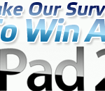 Complete a Survey, Win an iPad 2