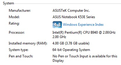 How Much Memory Does My Computer Have