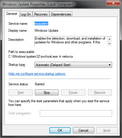 Windows Automatic Update Service