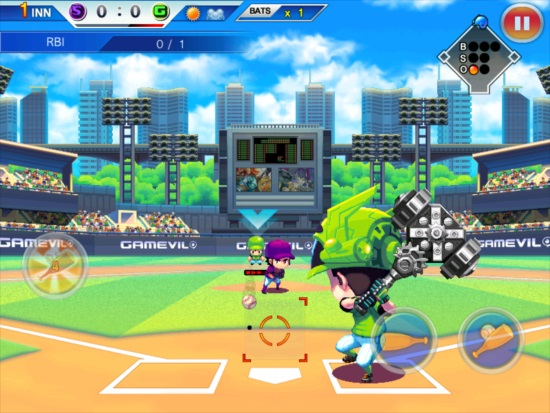 Baseball Superstars 2012 Batting