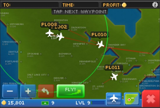 Pocket Planes Plotting Route