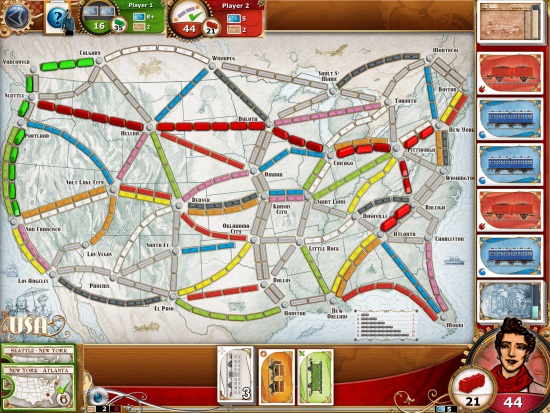 Ticket to Ride iPad Review