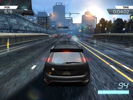 Need for Speed Most Wanted iPad Review
